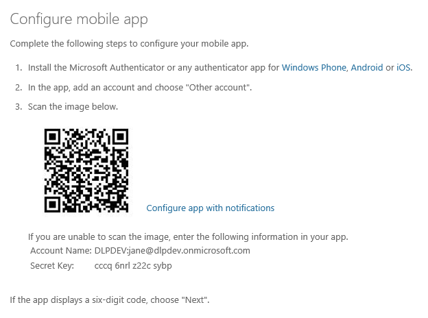 Creating Custom Multi-Factor Authentication Client with Azure