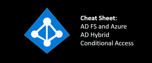 Cheat sheet: AD FS and Azure AD Hybrid Conditional Access
